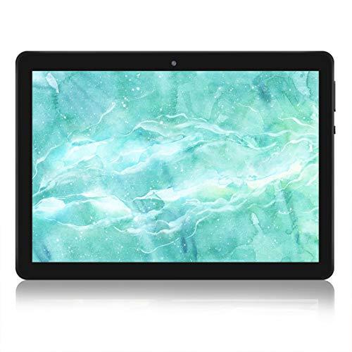 tablet dual os Tablet Android 8.0 da 10.1inch 4G Dual Sim Quad-core Carta RAM 2GB 32GB ROM WiFi Bluetooth GPS Suono Stereo con Doppio Altoparlante(nero)