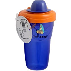 1st Step Baby Non-Spill Cup 6M+ - RoyalBlue, 3M+