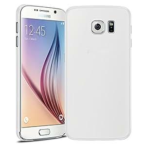 Caseink - Coque Housse Etui Samsung Galaxy S6 G920 [Translucide Ultra Fine 0.3mm] Film de protection HD Inclus - Transparente