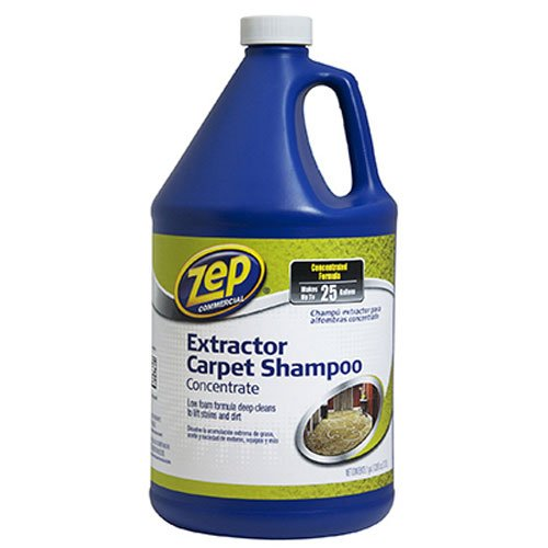 ZEP Commercial Extractor Carpet Shampoo, 128 oz