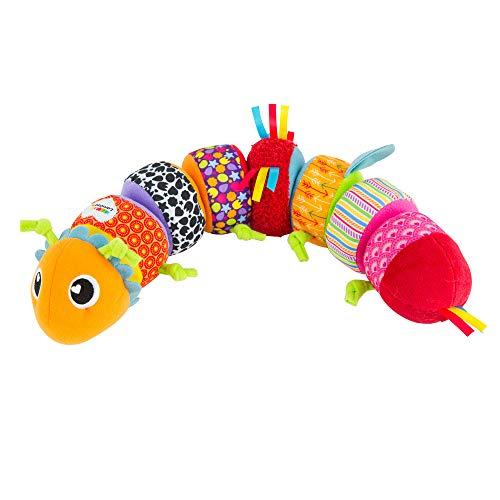 """Lamaze \""""Softes Raupenpuzzle\"""" Babyspielzeug zur Förderung der motorischen Fähigkeiten - Buntes Lernspielzeug aus mehreren Elementen zum Heranführen an Farben - Ab 6 Monate"""