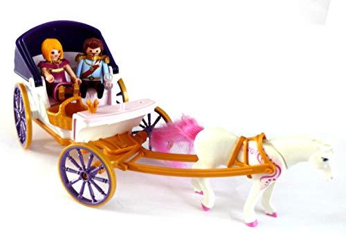 playmobil ® - Kutsche König - Königin - mit Schimmel - 6856 - wie neu (Und König Königin Playmobil)