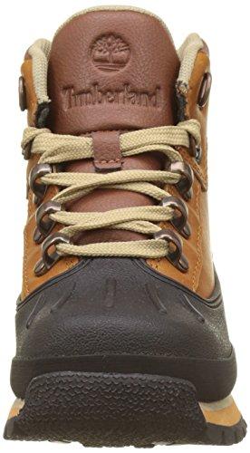 Timberland Kid s Euro Hiker Shell Toe Chukka  Brown  Claypot   13 UK