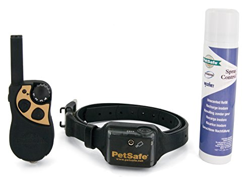 PetSafe SPT-275 Remote Spray Trainer, 275 Meter, Training Spray and Tone Collar for Dogs