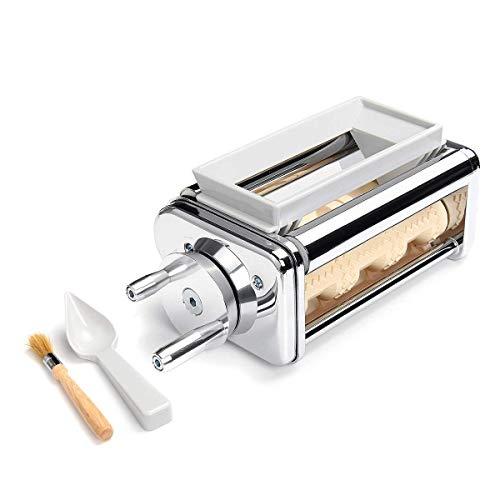 Terrarum Steel Pasta Dumpling Lasagna Spaghetti Tagliatelle Ravioli Bread Maker Machine For Kitchenaid
