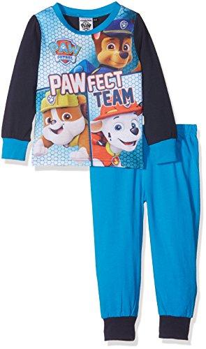 Paw Patrol Team, Pijama para Niños, Azul (Azul Turquesa), 2-3 Años