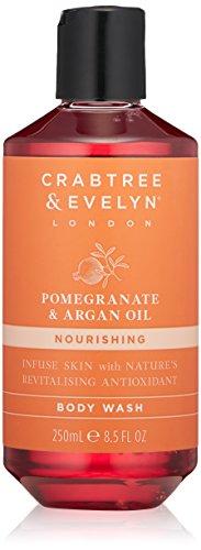 Crabtree & Evelyn Pomegranate and Argan Oil Body Wash Duschgel 250ml -