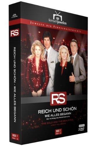 Reich und Schön - Box 1: Wie alles begann, Folgen 1-25 (Fernsehjuwelen) (5 DVDs) hier kaufen