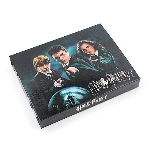 41xOpSO74fL - EisEyen 15 unids/Set Harry Potter Hermione Dumbledore Voldemort Varita mágica con Caja de Halloween Harri Potter Chico Hogwarts Varita mágica de Regalo (D)