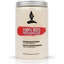 Reis Proteinpulver • 100% reines Reisprotein • 500g • ohne Zusätze • vegan • optimal für Paleo, Atkins, Keto und Low Carb Ernährung • in Deutschland hergestellt • primalife