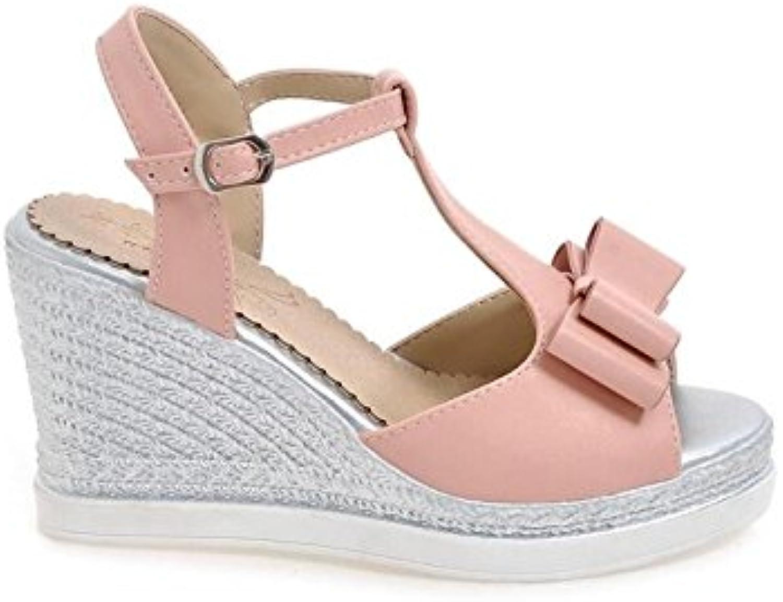 KPHY-Sandalias De Cuña De Mujer Dulce Verano Pequeño Fresco Zapatos De Plataforma Coreano De Todo Partido Zapatos...