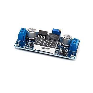 Winomo Step-Down Schaltregler Spannungswandler Modul Wandler DC 0-40 V DC mit Voltmeter