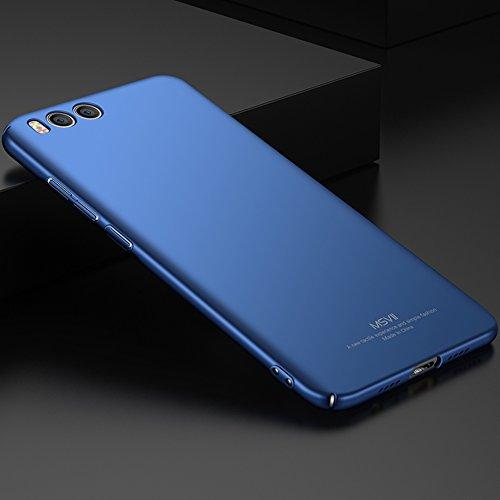 Xiaomi Mi 6 Hülle, MSVII® Sehr Dünn Hülle Schutzhülle Case Und Displayschutzfolie für Xiaomi Mi 6 - Lila JY00298 Blau