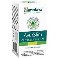 Ayurslim per la perdita di peso - Tutto il supporto per il controllo del peso naturalmente - aiuta a bruciare i grassi e mantenere sani i livelli di colesterolo - Contiene Garcinia Cambogia - 60 capsule - Prodotto dell'Himalaya