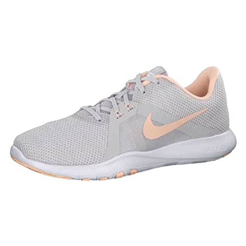 hot sale online 15665 6b964 Nike Damen W Flex Trainer 8 Laufschuhe, Grau (Riesengrau Karmesinton-Weiß  016
