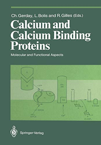 Calcium and Calcium Binding Proteins: Molecular and Functional Aspects (Proceedings in Life Sciences) - Binding Protein