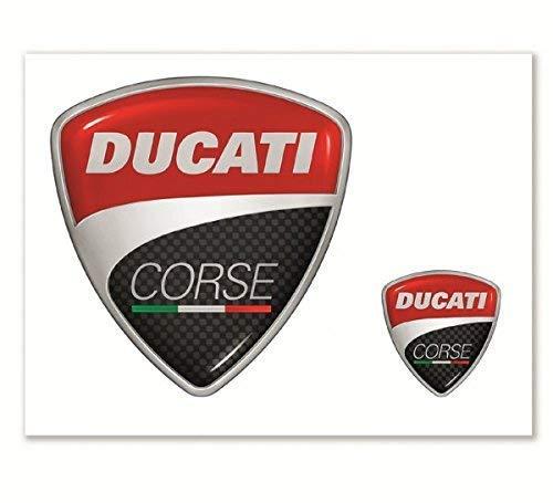 Ducati Corse Aufkleber 2 Stück