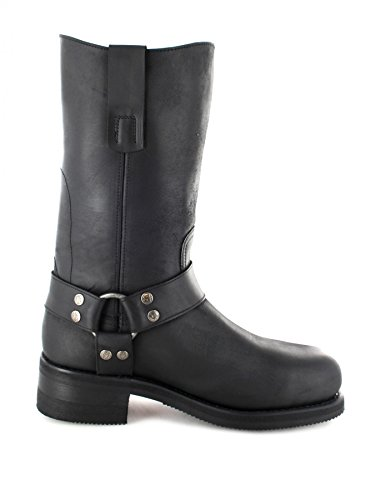 Sendra boots bottes 12397 noir engineerstiefel avec renfort en acier Noir - Noir