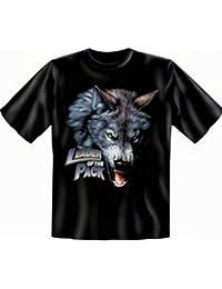 Indianer Indianistik T-Shirt Übergrößen 3XL 4XL 5XL Leader of the Pack Fb schwarz