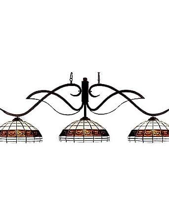 MLA la lumière de billard tiffany île / (0923-tf-p5)