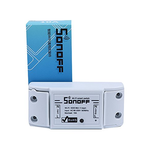 TPulling Sonoff Diy Wireless Switch Fernbedienung Wifi Switch Universal Smart Home Automation Modul Timer über IOS Android Modul Home-automation
