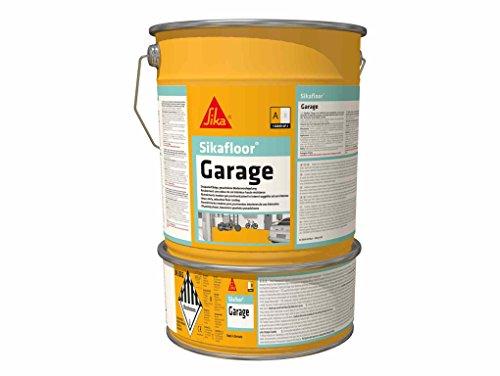 Sikafloor Garage, Peinture de sol intérieur spécial garage, 6kg, Gris