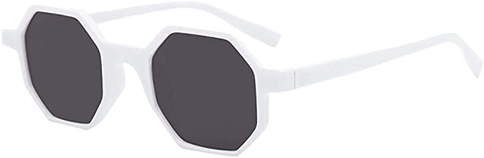 Iuhan Sunglasses Retro Vintage Sunglasses Rapper Rhombic Shades Glasses