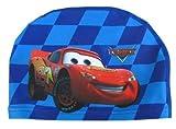 Cartoon-Stoffbadekappe für Kinder, 2 - 10Jahre, diverse Designs, Cars Blue