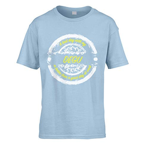 3242941288fe0 Bad Day avec Degu Better Than Travail Enfants T-Shirt (à Choisir Couleur et