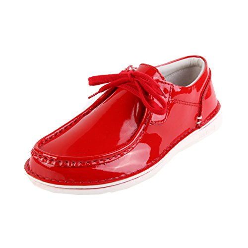 Birkenstock Pasadena Ladies Lack Red Rouge