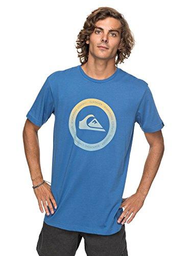 Quiksilver Classic Kahu - T-Shirt - T-Shirt - Männer - L - Blau