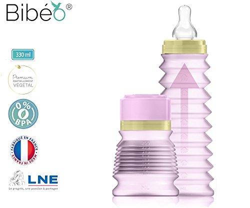 bibeo-premium-biberon-de-sorties-parme-330-ml-dbit-moyen-6mois-bague-et-capuchon-en-matires-vgtales-