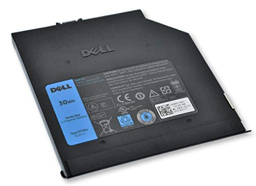 Dell Latitude E6520 E6420 E6320 E6330 E6530 E6430 E6430s E Series 2nd Bay Battery Module 30Wh 5X317 P7VRH