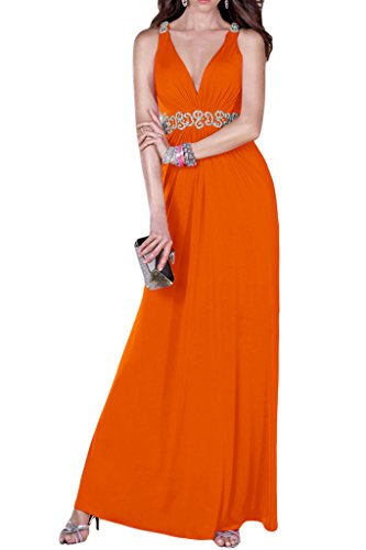 Ivydressing -  Vestito  - linea ad a - Donna Orange