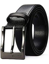 HX fashion Cinturón De Los Hombres Bolígrafo De Los Hombres Tamaños Cómodos  Cinturón Salvaje De Los Hombres Pantalones De… e0bea0a8fbc6