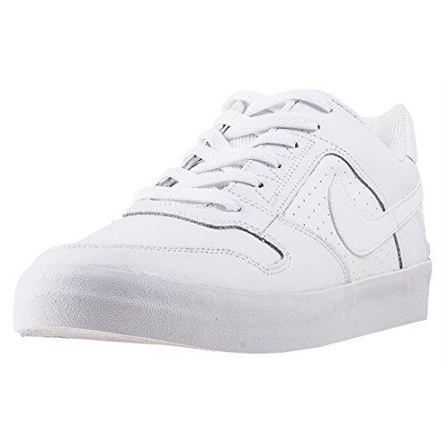 buy popular 44c78 f8b27 Nike SB Delta Force Vulc, Scarpe da Skateboard Uomo, Bianco White 112, 39