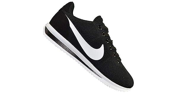 74ed8e0d8094f Nike - Basket - Homme - Cortez Ultra Moire Canvas - Noir Blanc: Amazon.fr:  Chaussures et Sacs