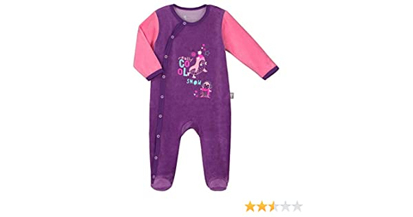 1 mois Taille 56 cm Pyjama b/éb/é velours Pretty Ice