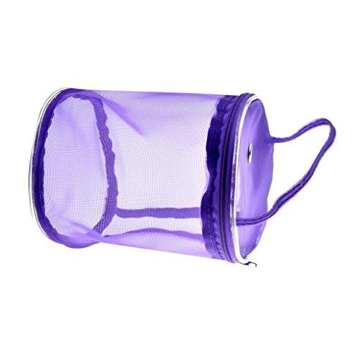 Masrin Netz-Garn-Häkelnadel–Organizer Tasche violett (Organizer Häkelnadel)