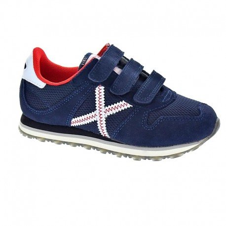 Munich Unisex, bambini Mini Massana scarpe sportive blu Size: 28 EU