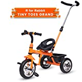 #10: R for Rabbit Tiny Toes Grand Baby/Kids Cycle - Smart Plug & Play Baby Tricycle for Kids/Baby for 1.5 to 5 Years (Orange)