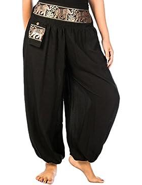Lofbaz Donna Pantaloni Cintura Modello Elefante
