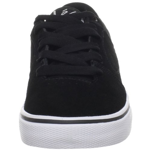 éS SQUARE TWO YOUTH 5301000022, Chaussures de skateboard mixte enfant Noir/blanc - V.5
