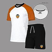 Valencia CF Pijvcf Pijama Corto, Unisex niños, Blanco, ...