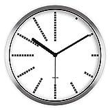 ZHDC® Orologio da parete muto metallo creativo quarzo Soggiorno Art 30 * 30cm Home wall clock ( Colore : #2 )