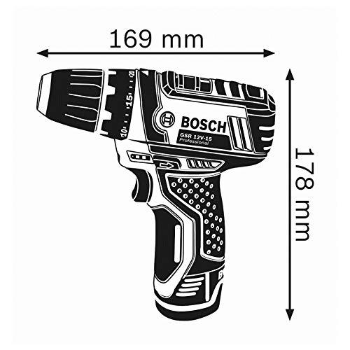 Bosch Akku-Bohrschrauber GSR 10,8-2-Li Ohne Akku und Ohne Ladegerät - 3