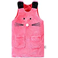 Moonuy Vestido de algodón sin mangas de impresión de gatito de niñas de bebé de ropa de vestir ropa Vestidos de 0 a 24 meses bebé (Rosado, 70)