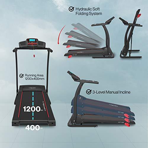 Zoom IMG-3 techfit mt125 tapis roulant elettrico