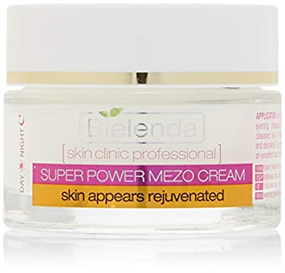 Skin Clinic Professional Super Power Mezo Anti-Age Actively Rejuvenating Day Night Cream 50ml by Bielenda