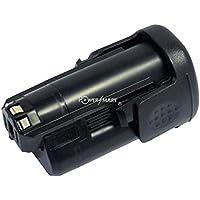 PowerSmart [1500mAh 10.80V Li-ion] Replacement for Power Tools Battery Fit UK BOSCH PMF 10.8 LI, PSR 10.8 Li-2, Compatible Part Numbers: 2 607 336 863, 2 607 336 864